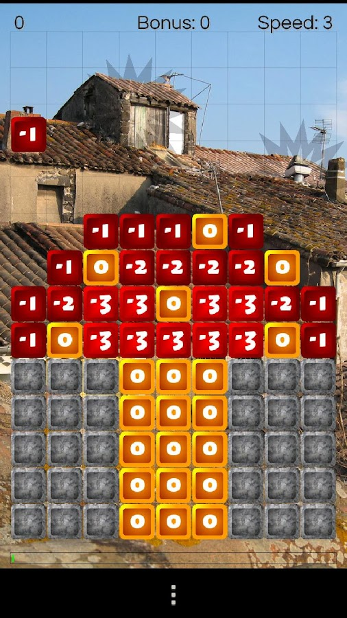 Numblox - puzzle game - screenshot