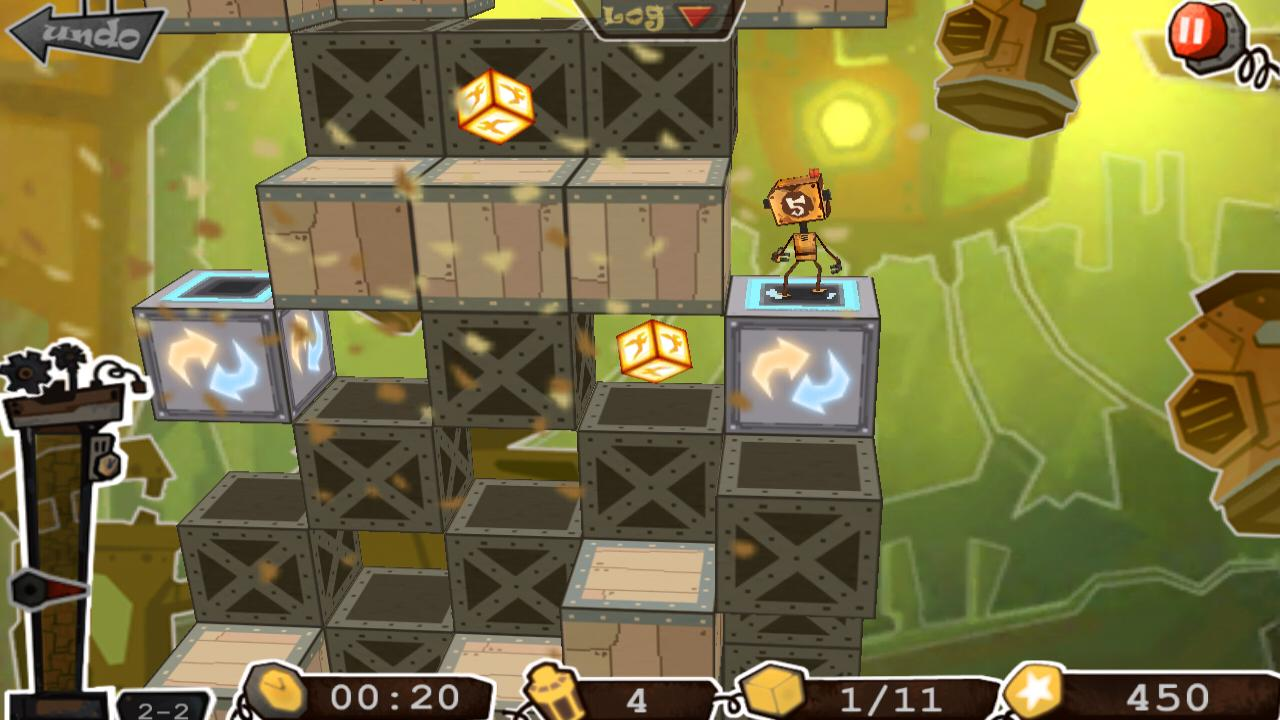 Robo5: 3D Action Puzzle - screenshot