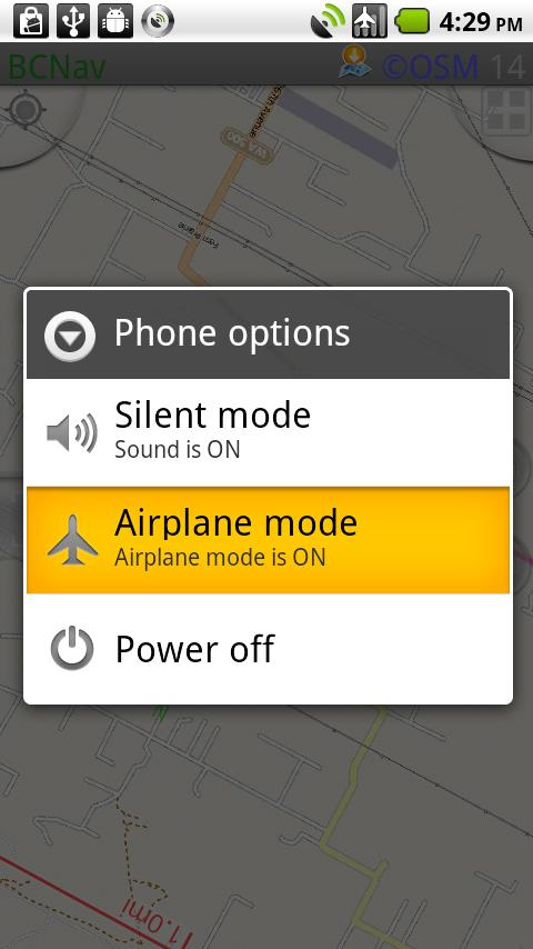 GPS Airtime - screenshot