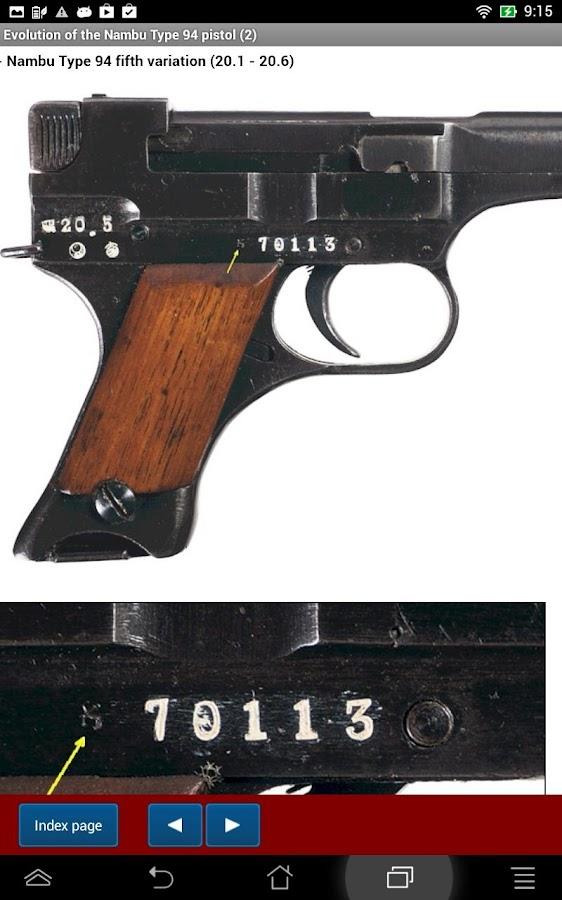 Nambu pistol Type 94 explained- screenshot