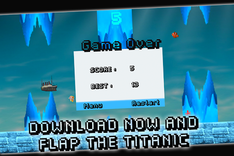 Flappy Titanic - screenshot thumbnail