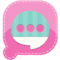 Free Easy SMS Pink Garden Theme APK for Windows 8