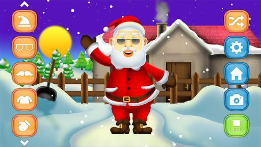圣诞老人换装游戏
