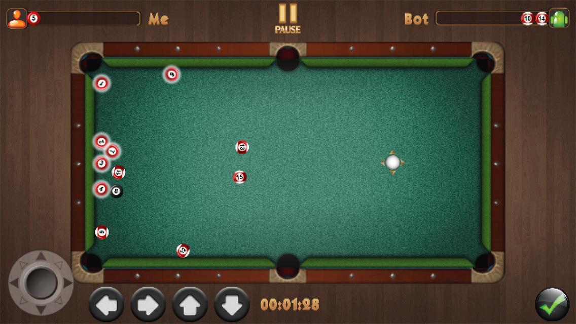 free snooker game