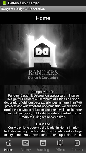 Rangers Design Decoration