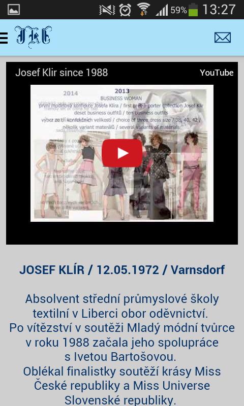 Josef Klír - screenshot