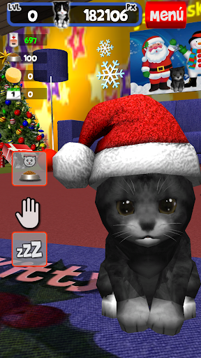 Kitty Z your pet in Christmas
