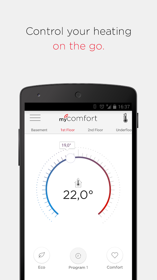 myComfort- screenshot