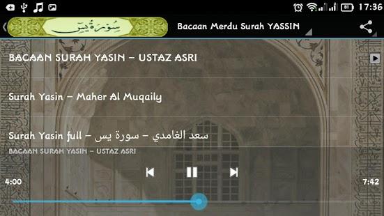 Bacaan YASSIN - MP3 - náhled