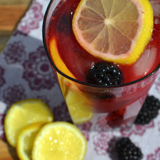 Blackberry Lemon Iced Tea