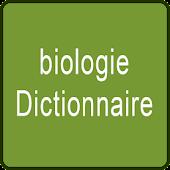 biologie Dictionnaire