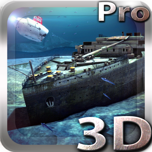 Titanic 3D Pro live wallpaper Apps for Android