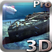 Titanic 3D Pro live wallpaper icon