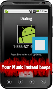 Ringtone INSTEAD Ringback Free - screenshot thumbnail