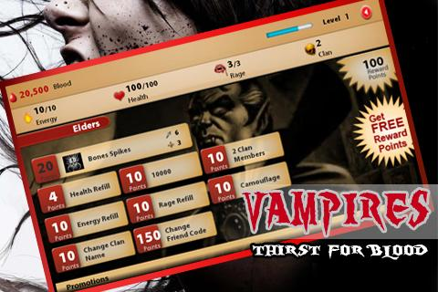 Vampires Thirst for Blood - screenshot