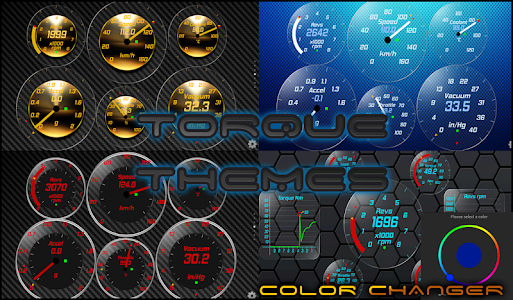 Torque Theme Glass OBD 2 screenshot 4
