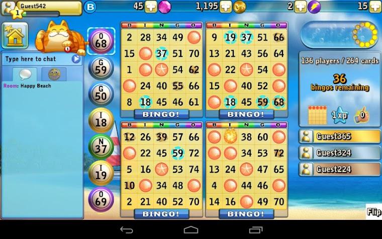 Bingo Beach Screenshot