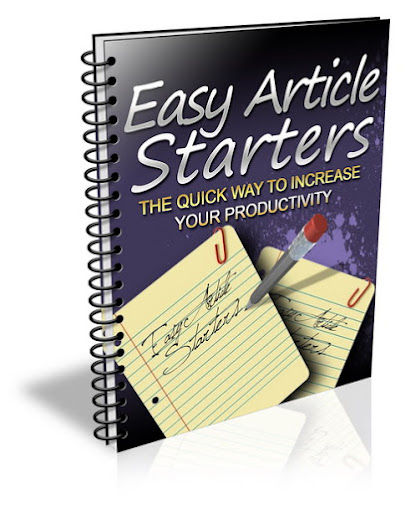 Easy Article Starters