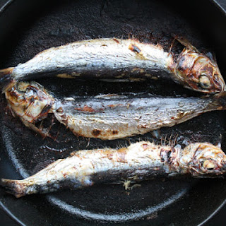 Marinated and Broiled Sardines Recipe