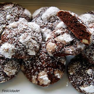 Chocolate and Hazelnuts Cookies.