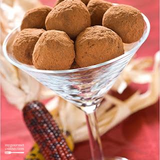 Autumn Spice Truffles