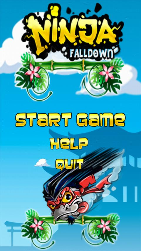 Ninja Falldown- screenshot