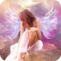 Angel HD Wallpaper Magic icon
