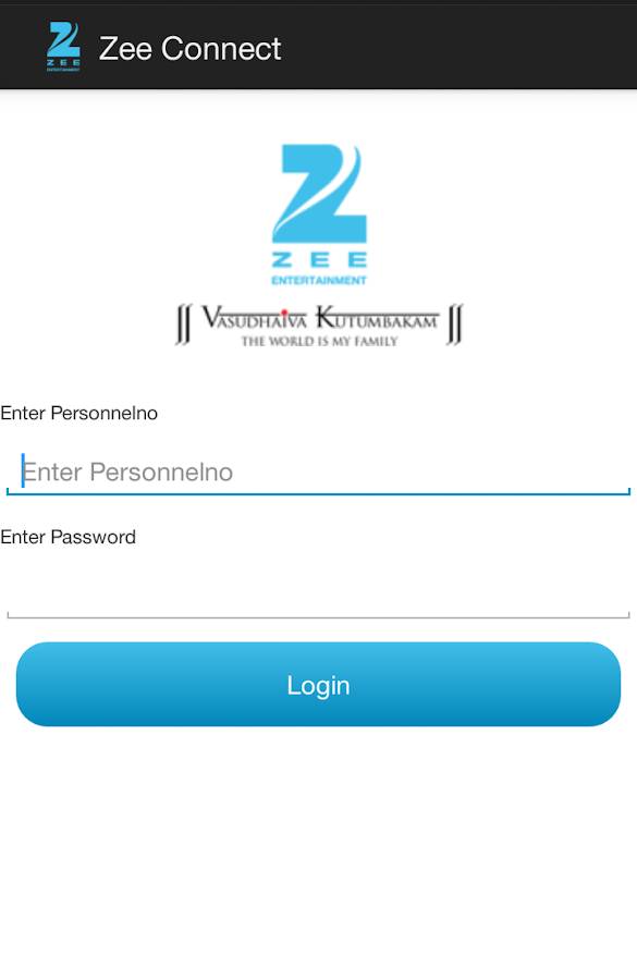ZEE Connect (Employees only)- screenshot