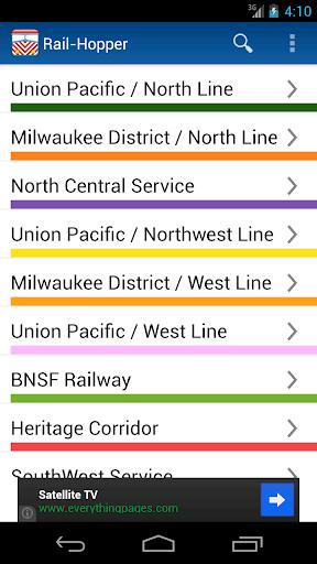Rail-Hopper for Metra