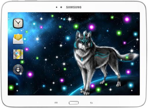 個人化必備APP下載|Mistery Wolves live wallpaper 好玩app不花錢|綠色工廠好玩App