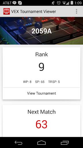 VEX Tournament Viewer