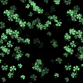 4 Leaf Clovers Live Wallpaper
