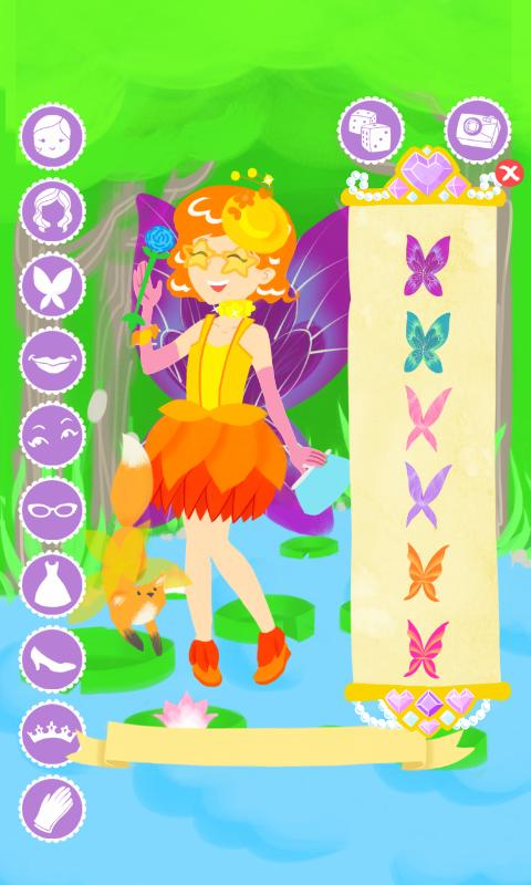 Fairy Fashion Show Dress Up- screenshot