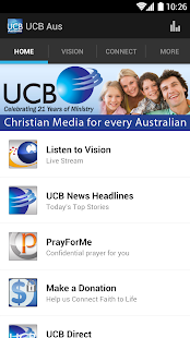 UCB & Vision Radio - screenshot thumbnail