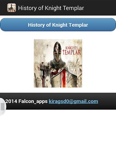 History of Knight Templar