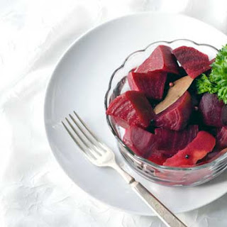 Gluten Free Quick Pickled Beets.