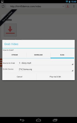vGet (Stream, Download, DLNA) 0.5.8 screenshots 2