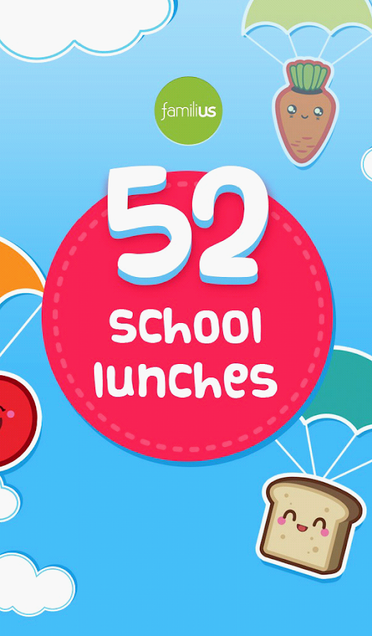 52 School Lunches- screenshot
