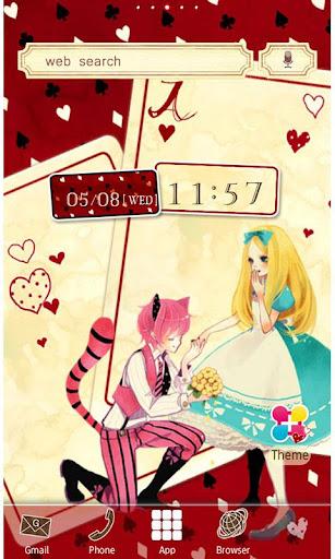 Loving Alice Wallpaper Theme 1.5 Windows u7528 1