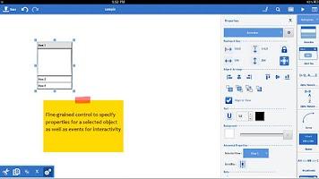Screenshot of Mockups.me Wireframes