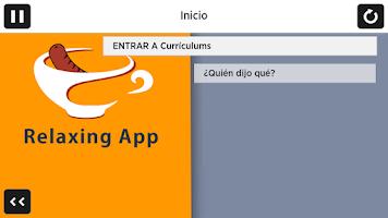 Screenshot of Relaxing App of Corrupción