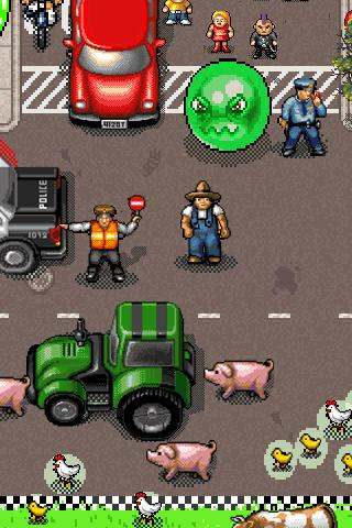 Slimeball Speedway- screenshot