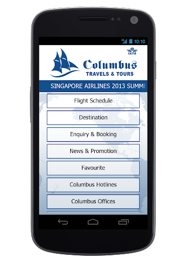 Columbus Travels Tours