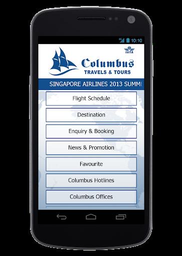 玩免費旅遊APP|下載Columbus Travels & Tours app不用錢|硬是要APP