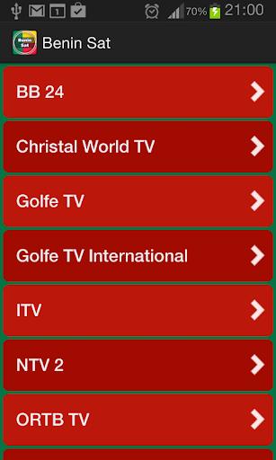 TV Satellite Info Benin  screenshots 1