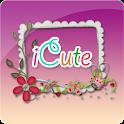Icute - Trang trí ảnh cực đẹp icon