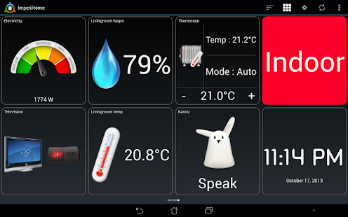 ImperiHome - Smart Home Automation- screenshot thumbnail