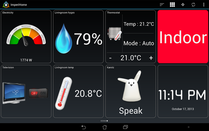 ImperiHome \342\200\223 Smart Home & Smart City Management Screenshot 11