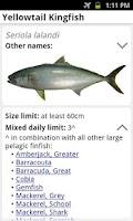 Screenshot of My Fishing Mate Australia