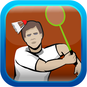 how to play badminton up and back